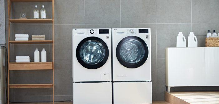 Το νέο στεγνωτήριο της LG «επικοινωνεί» με το πλυντήριο για ακόμα πιο έξυπνη και αναβαθμισμένη εμπειρία πλύσης!