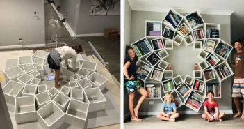 εντυπωσιακή βιβλιοθήκη
