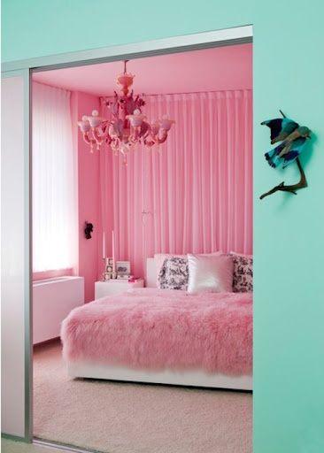 ροζ σπίτια