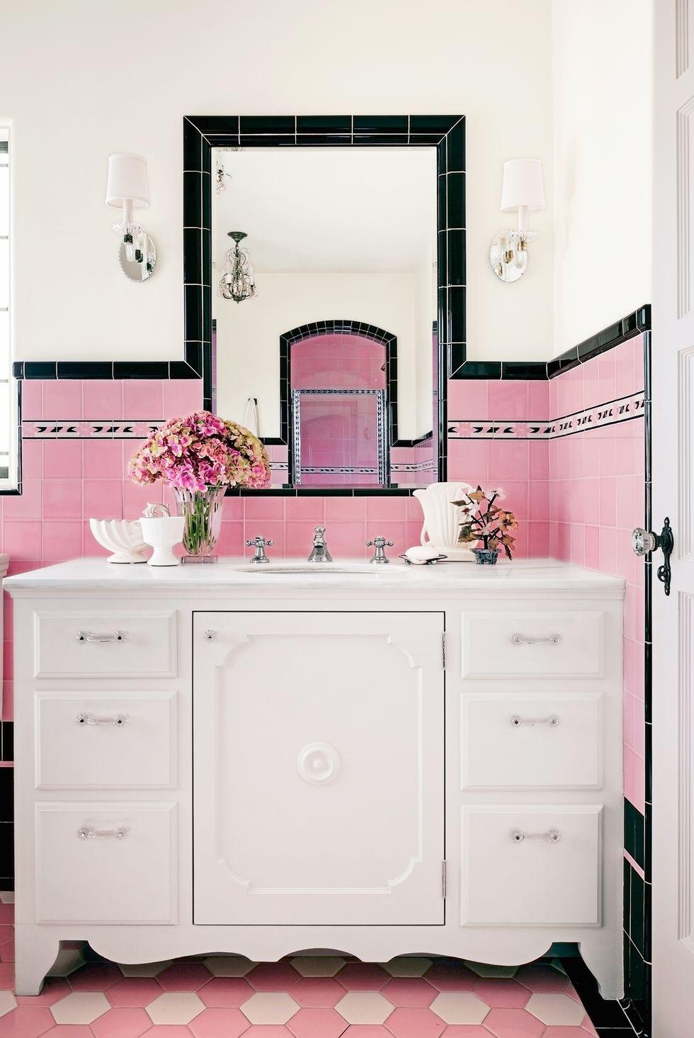 ροζ μπάνια
