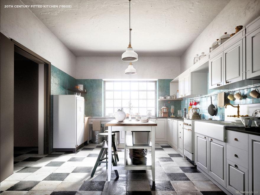 πόσο έχουν αλλάξει οι κουζίνες