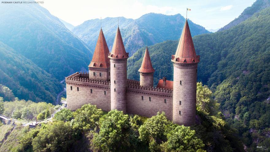ευρωπαϊκά κάστρα