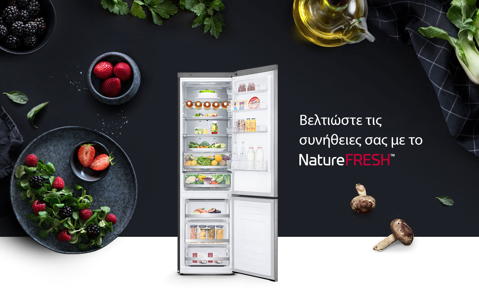 LG ψυγείων