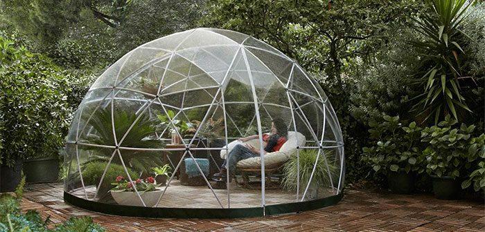 Η τέλεια προσθήκη για την αυλή: αυτό το υπαίθριο igloo