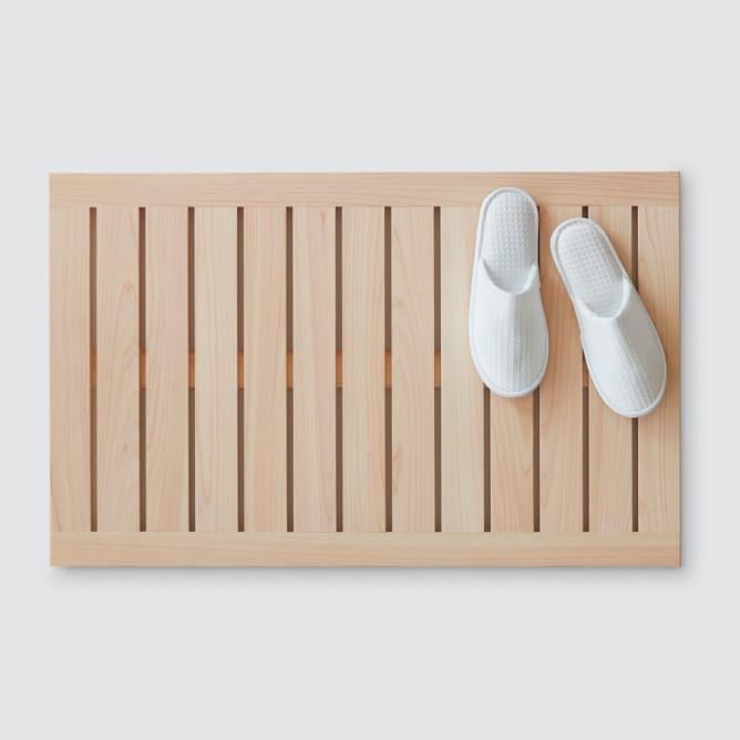 ξύλινο πατάκι