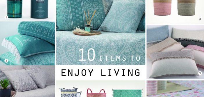Ξεχωρίσαμε 10 items από τον κατάλογο της NEF – NEF Homeware που μας βοηθούν να απολαύσουμε τη ζωή