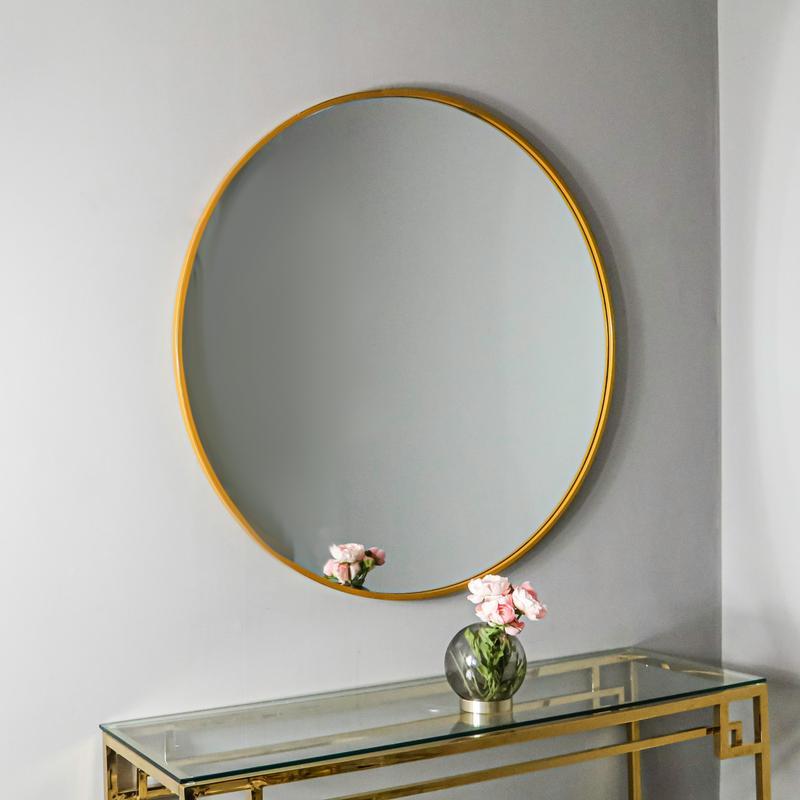 στρογγυλό καθρέπτη