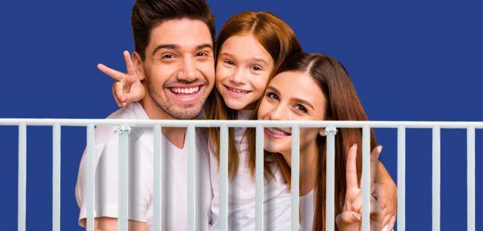 Προστατευτικά κάγκελα Protex. Απόλυτη ασφάλεια για τα παιδιά στο μπαλκόνι!