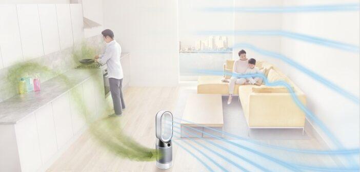 «Έξυπνοι» καθαριστές αέρα Dyson με ανεμιστήρες και θερμαντικά