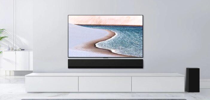 Πλημμυρίστε τον χώρο με τον απόλυτο κινηματογραφικό ήχο surround από το νέο LG Soundbar G1