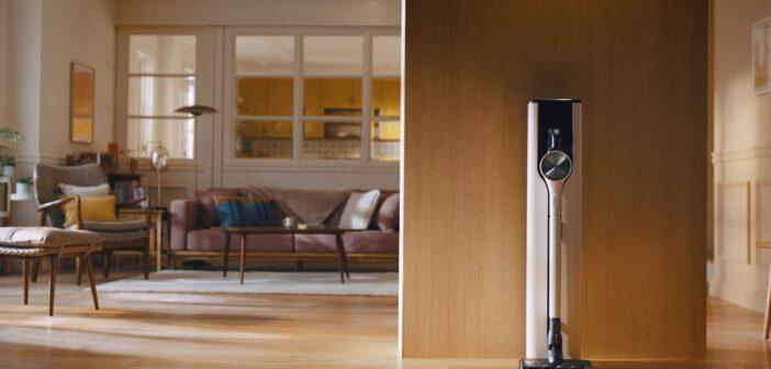 Η LG παρουσιάζει την ηλεκτρική σκούπα CORDZERO A9 KOMPRESSOR™ VAC με καινοτόμο σταθμό φόρτισης